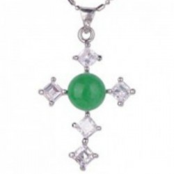 Jade Cross Zirconia