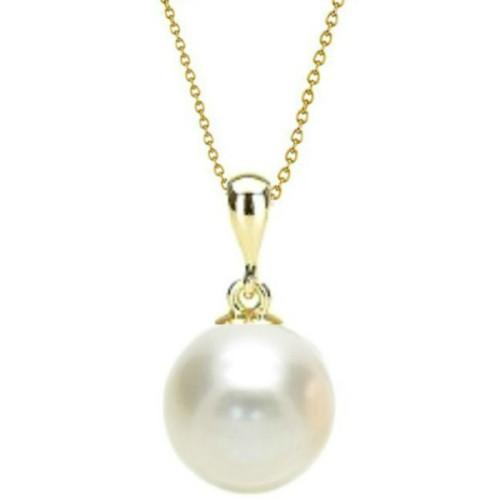 Pandantiv Aur cu Perla Alba...