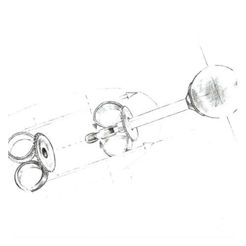 Bratara cu Perle Albe 7-8 mm AAA