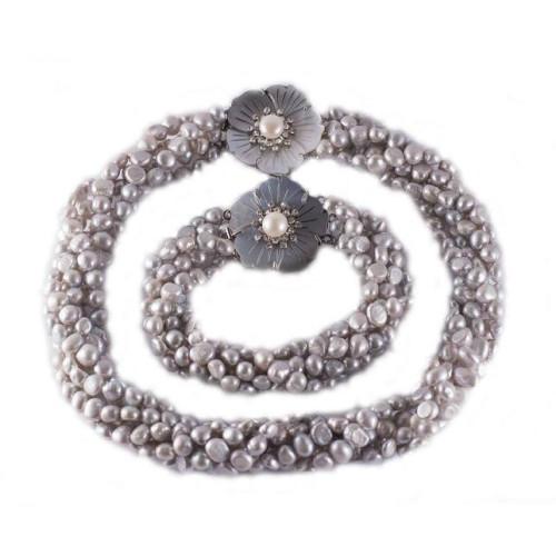 Set Perle Naturale de...