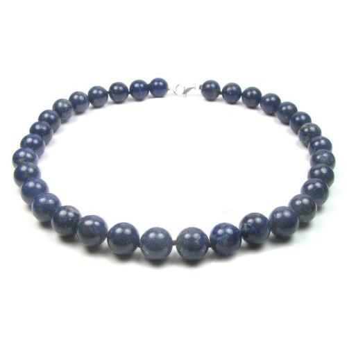 Colier Lapis Lazuli 12 mm