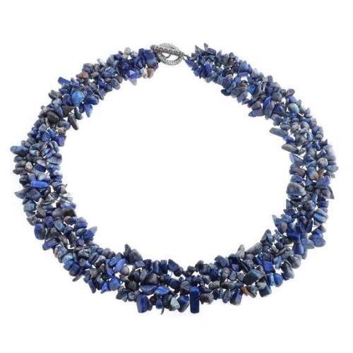 Colier Rasucit de Lapis Lazuli