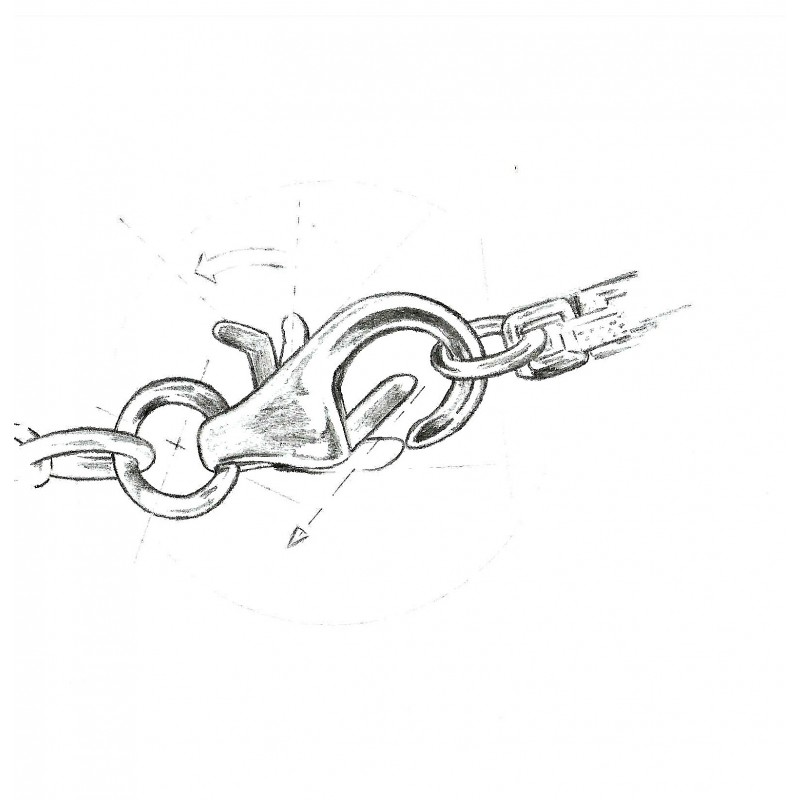 Pandantiv Argint Rotund Roz