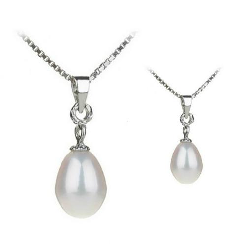 Coliere de Argint cu Perla...