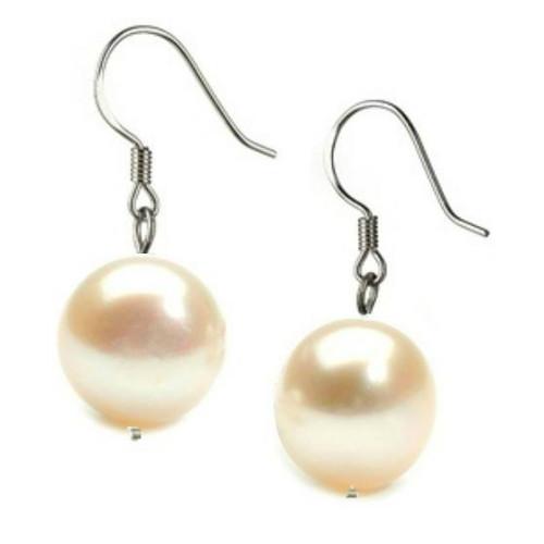 Cercei Argint si Perle...