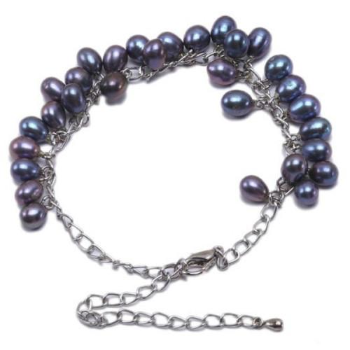 Colier Perle Naturale de Cultura cu Ramura