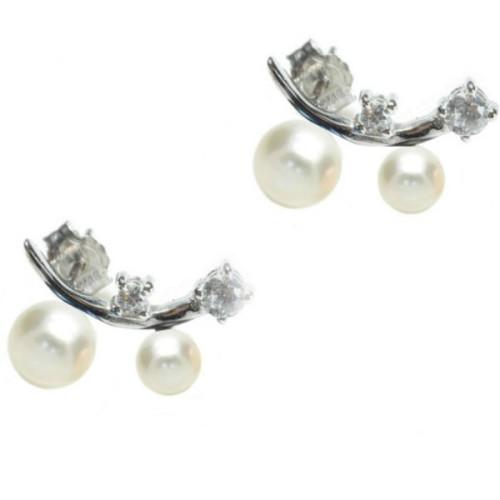 Cercei Argint Ear Cuff cu...