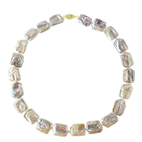 Colier Clasic Perle Naturale de Cultura Albe