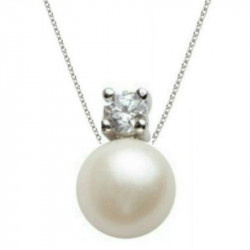 Cercei Argint Bulgarasi Perle Albe