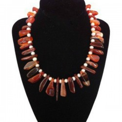 Colier Tribal Agate