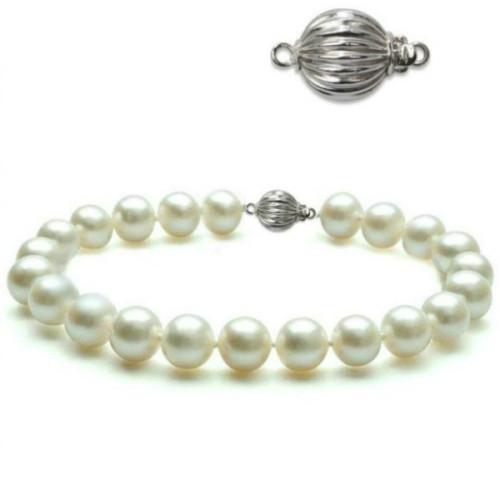 Set din Argint cu Perle Negre
