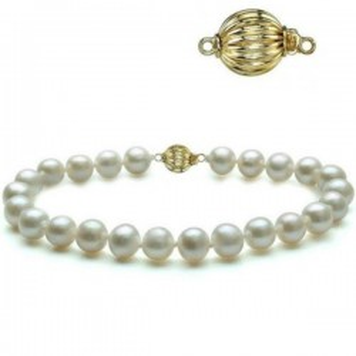 Cercei Argint cu Perla Lavanda 9-10 mm