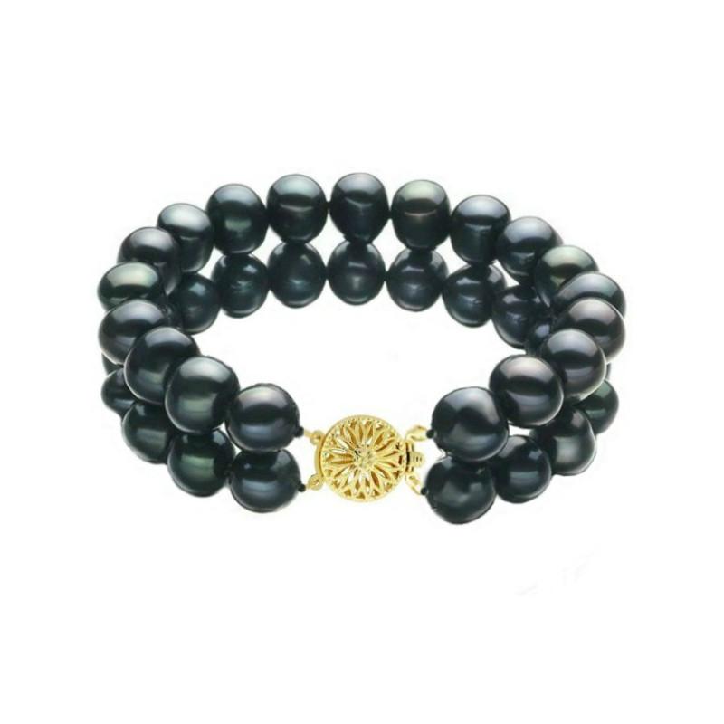Brosa/ Pandantiv Imperial cu Perle Naturale Roz
