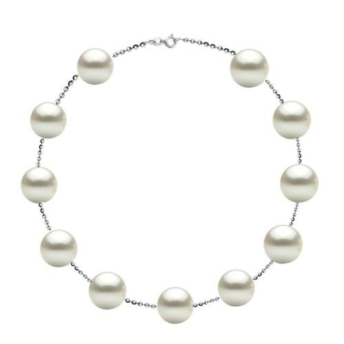 Colier Magnetic cu Perle Lacrima Lavanda