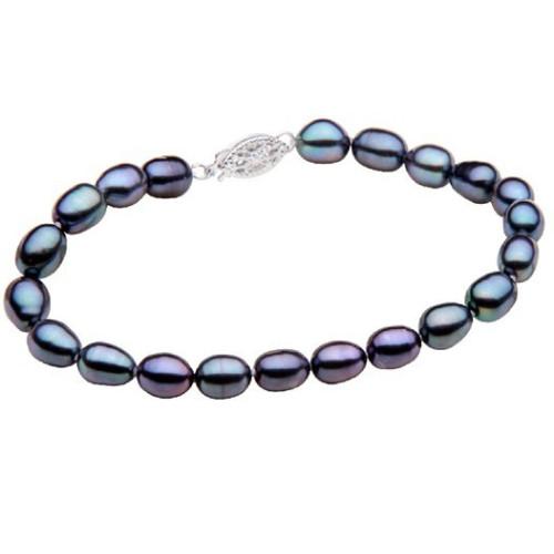 Colier Spic de Grau cu Perle Naturale Albe
