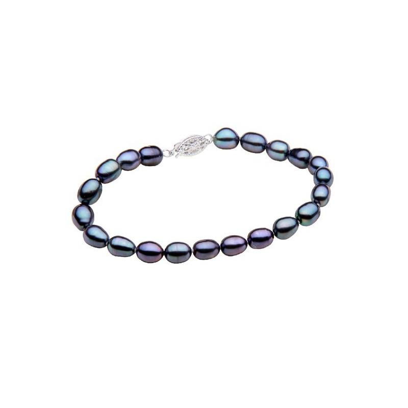 Colier Spic de Grau cu Perla Alba