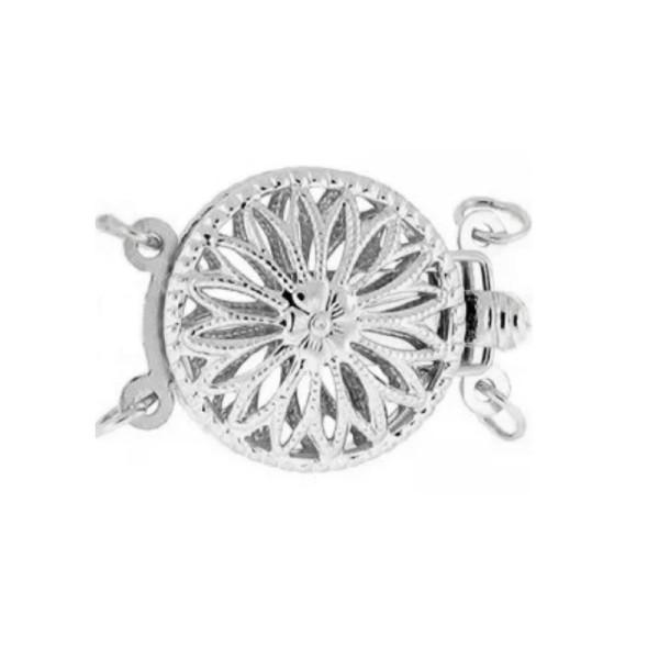 Colier Argint cu Perla Naturala Alba de 11 mm