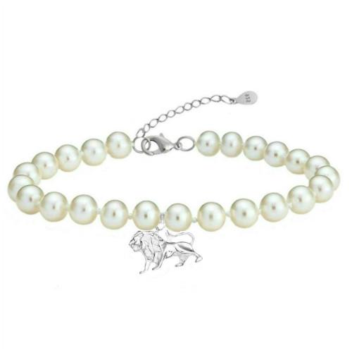 Bratara Zodiac Leu cu Perle...