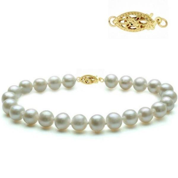 CADOUL PRIMAVERII Colier Silver Pearl