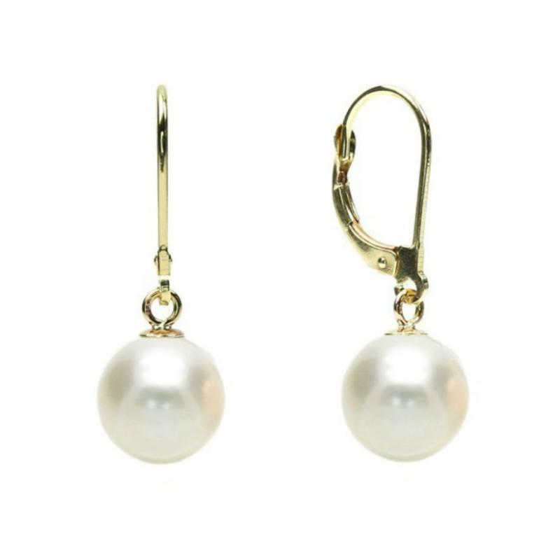 CADOUL ZILEI Cercei Silver Pearl