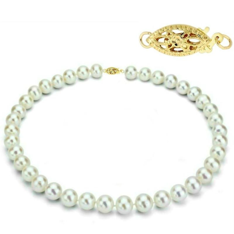 Inel Reglabil din Argint cu Perla Crem