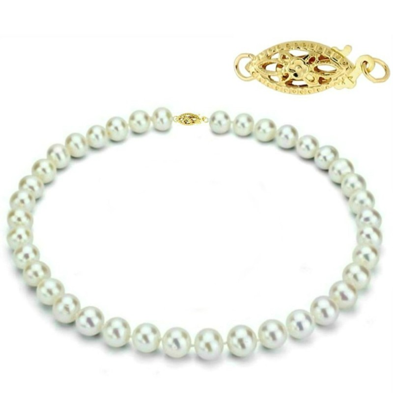 Set Clasic Perle Naturale Gri