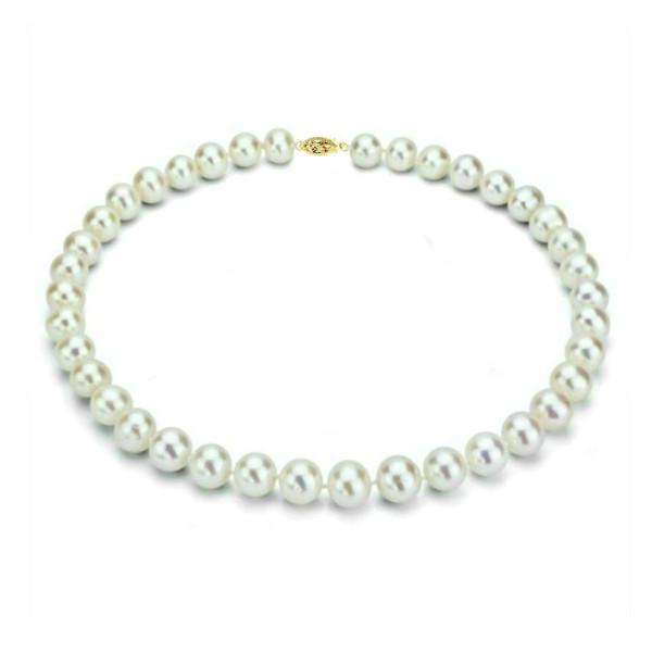 Set Clasic Perle Naturale Aurii