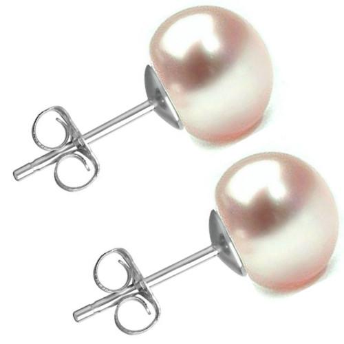 Colier Perle Albe 6mm