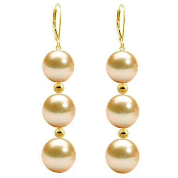 Inel Argint Bulgaras Perle Naturale Albe AAA