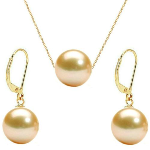Inel din Aur cu Perla Naturala de Cultura Alba