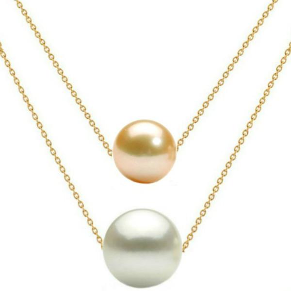 Inel din Aur cu Perla Naturala de Cultura