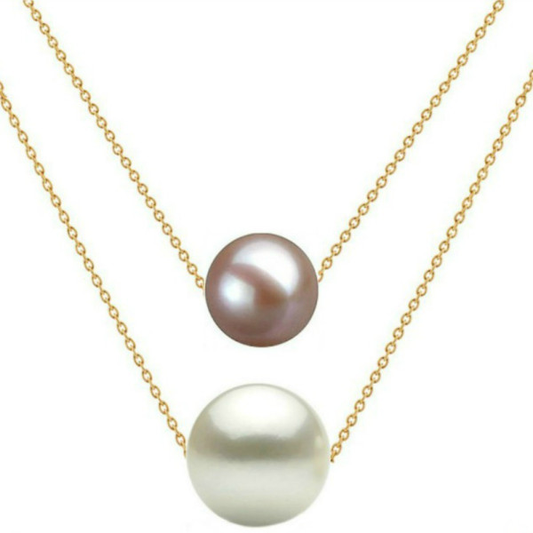 Set Aur si Bulgarasi cu Perle Naturale Albe