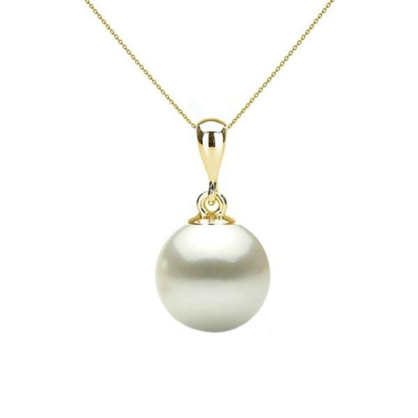 Colier Perle Naturale Negre Mari cu Inchizatoare de Aur