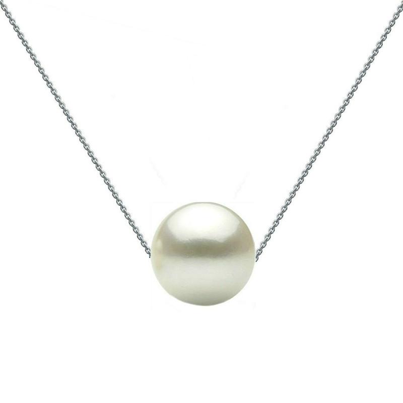 Set Aur si Perle Naturale Albe