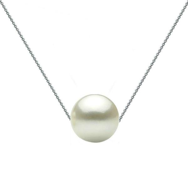 Set Aur 14k Colier si Cercei Lungi cu Perle Naturale