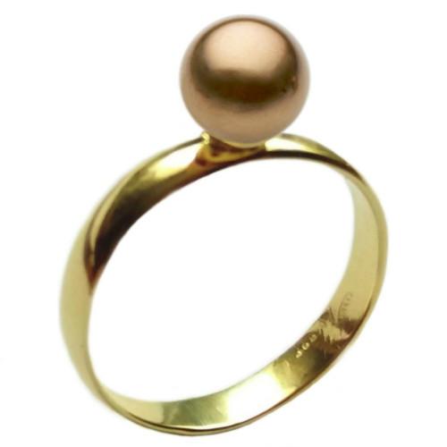 Inel Aur cu Perla Naturala...