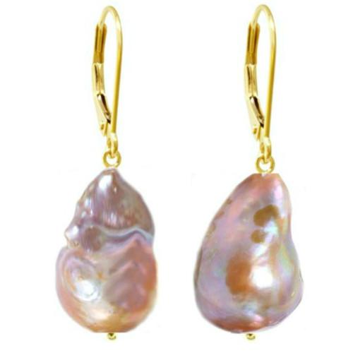Cercei Aur cu Perle...