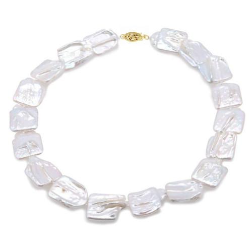 Colier Perle Naturale...