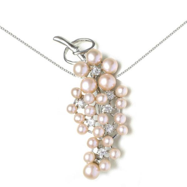 Set Aur 14 k cu Perle Naturale Lavanda