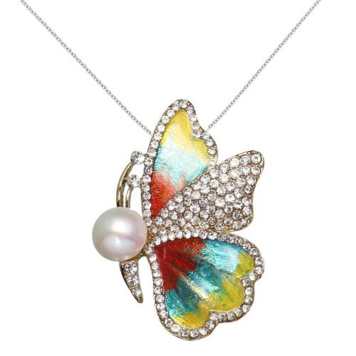 Cercei Lucky Perle Naturale Lavanda
