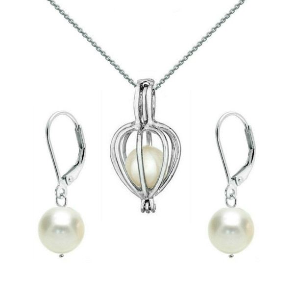 Bratara Perle Naturale Albe Premium 8-9 mm cu Inchizatoare Ovala de Aur Galben 14k