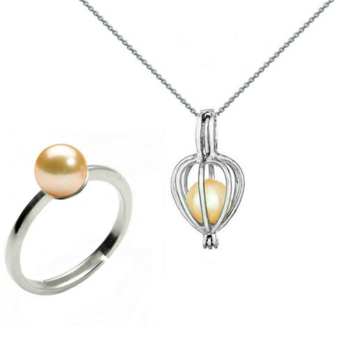 Bratara Argint cu Perle Naturale Albe Premium de 7-8 mm