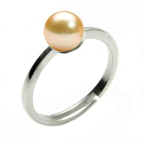 Bratara Argint cu Perle Naturale Albe Premium de 8-9 mm