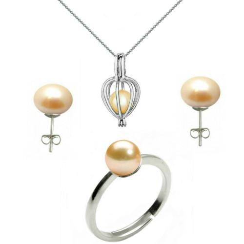 Bratara Office Argint 925 si Perle Naturale Premium de 10 mm