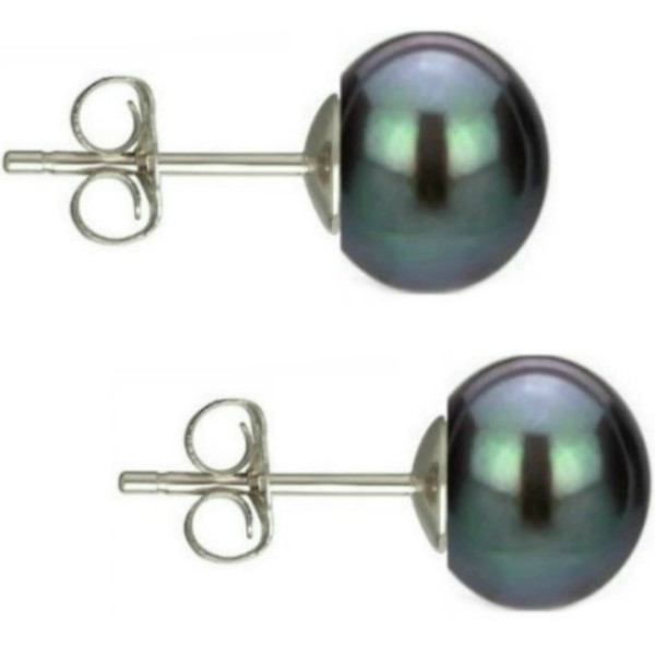 Cercei Argint Clips cu Perle Naturale Teardrops Albe