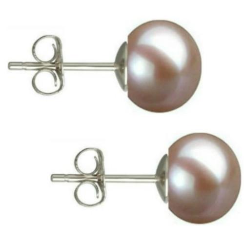 Colier Perle Naturale Ovale Albe cu Inchizatoare Aur Alb