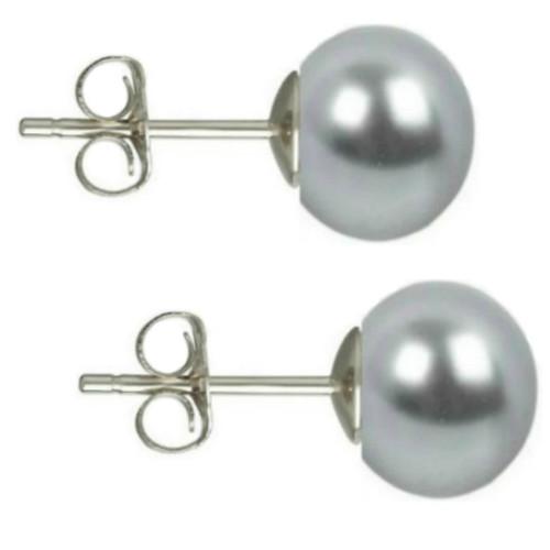 Bratara Zodiac Berbec cu Perle Naturale Albe 7 mm