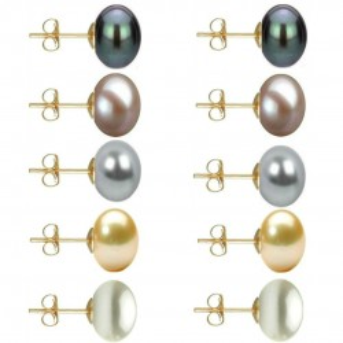 Cercei Business Argint si Perle Naturale Premium