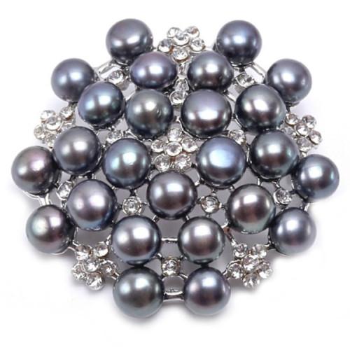 Pandantiv Argint Rotund Crem