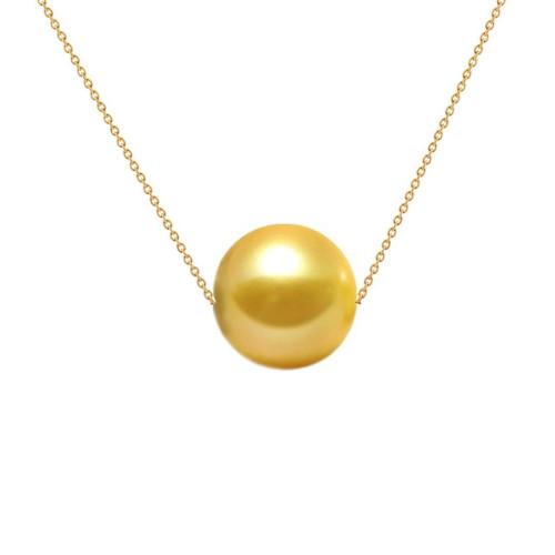 Colier Aur cu Perla Akoya Gold